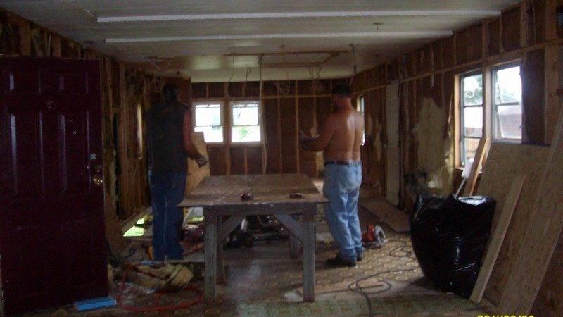 Demolition Mobile Home Renovation