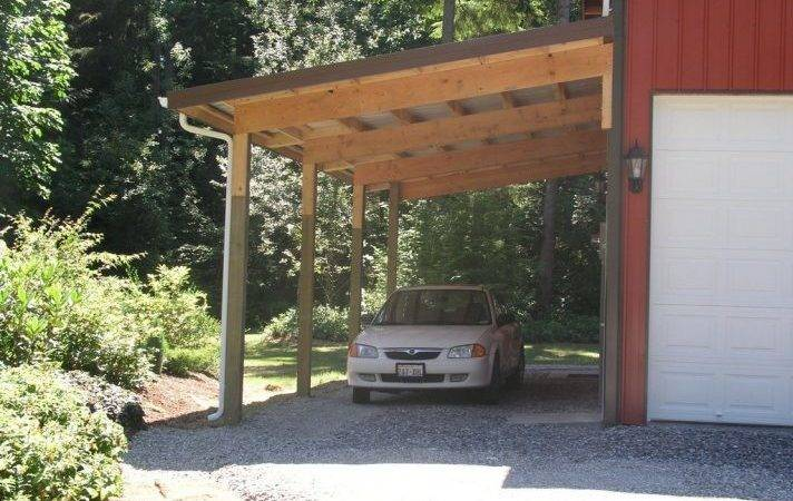 Detached Garage Plans Homemade Shelters Pole Barn