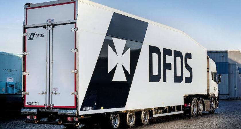 Dfds Cuts Road Miles First Pallet Gray Adams