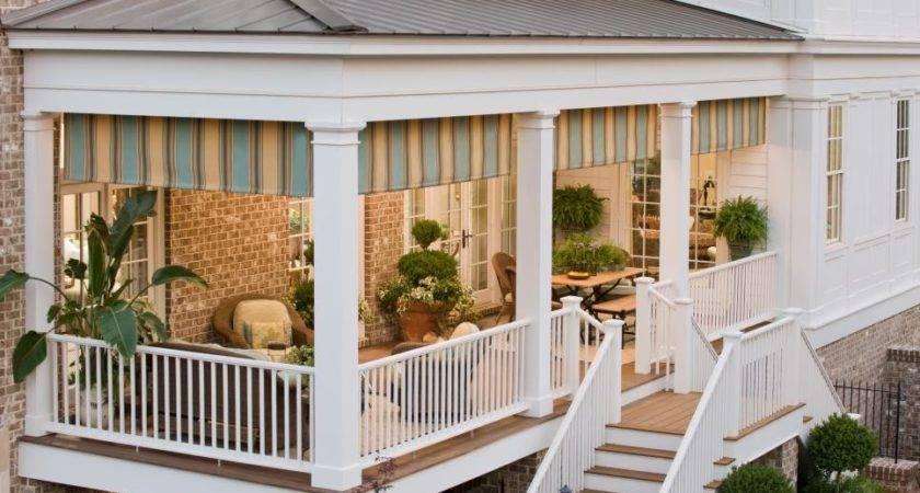 Different Ideas Covered Back Porch Bistrodre