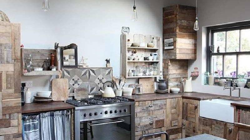 Disegni Cucina Incredibili Realizzati Con Palletmobili