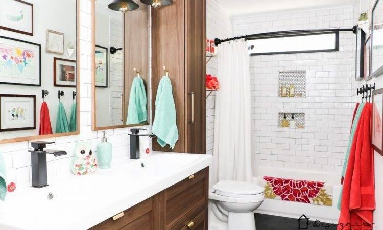 Diy Bathroom Remodel Reveal Designer Trapped Lawyer