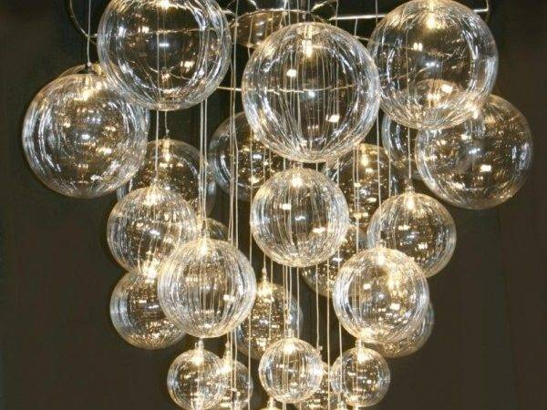 Diy Bubble Chandelier Chandeliers Light