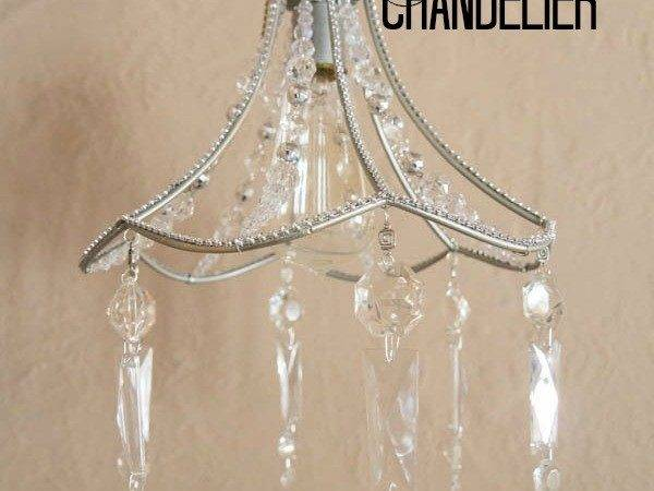 Diy Crystal Chandelier Pinnable