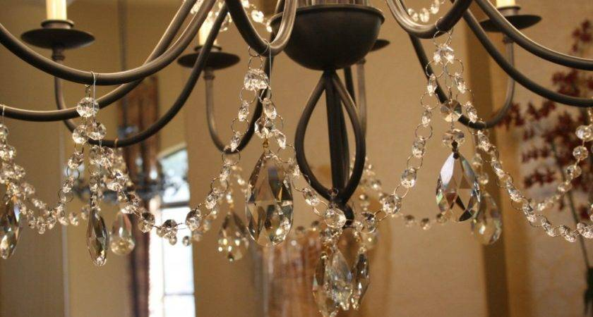 Diy Crystal Chandelier Red Haute Mama