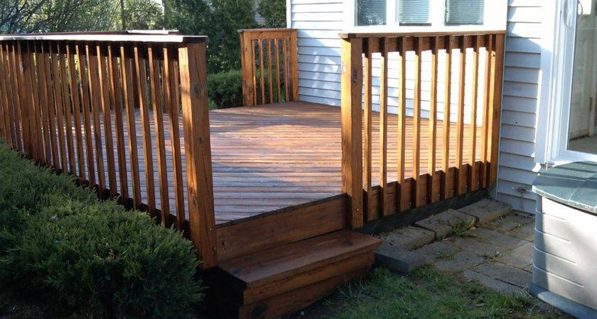 Diy Deck Railing Designs Outdoor Improvement Ideas Also