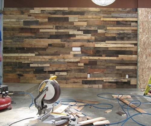 Diy Decorating Your Home Pallet Wall Art