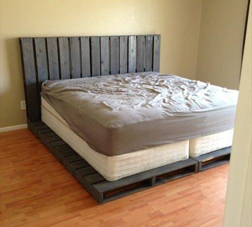 Diy Ideas Best Cheap Pallet Bed Frame Wood