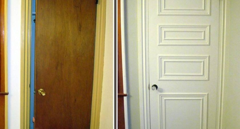 Diy Interior Door Makeover Photos Bestdoor
