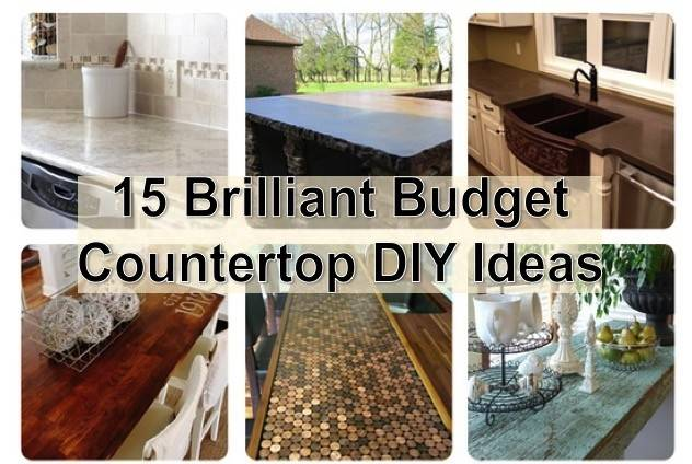 Diy Kitchen Countertop Ideas Best Cheap