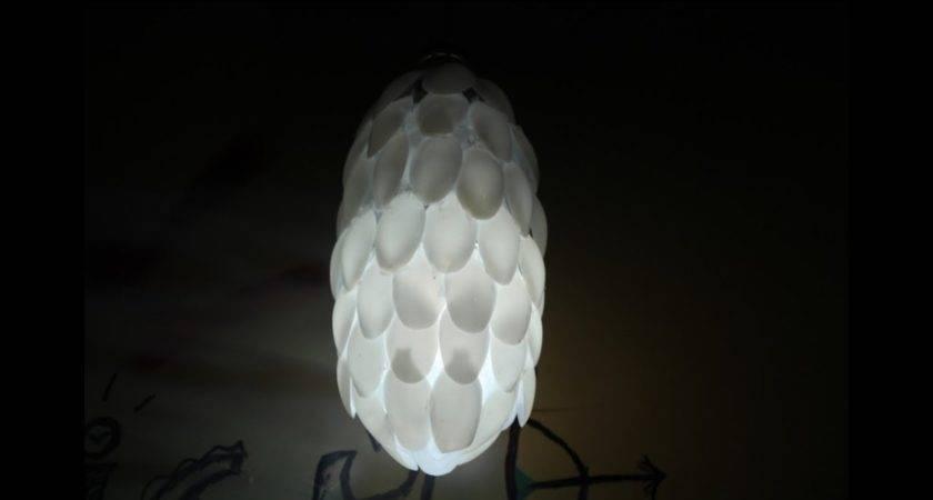 Diy Make Spoon Lamp Plastic Bottle Unique