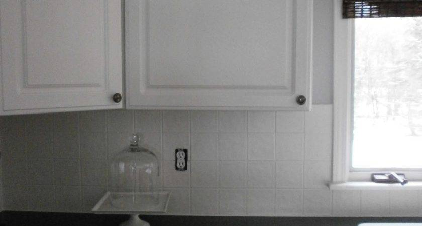 Diy Painting Ceramic Tile Backsplash