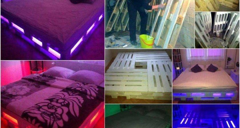 Diy Pallet Bed Instructions Decorate House