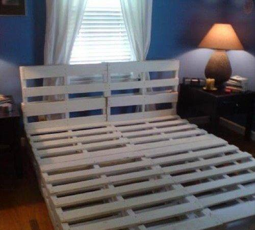 Diy Pallet Bed Instructions Really Like