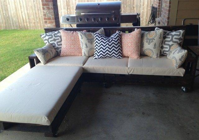 Diy Pallet Couch Ideas Furniture Pinterest