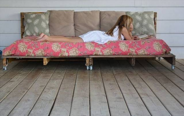 Diy Pallet Daybed Ideas