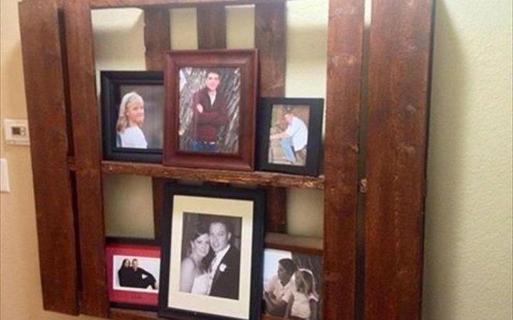 Diy Pallet Frame Unit Furniture