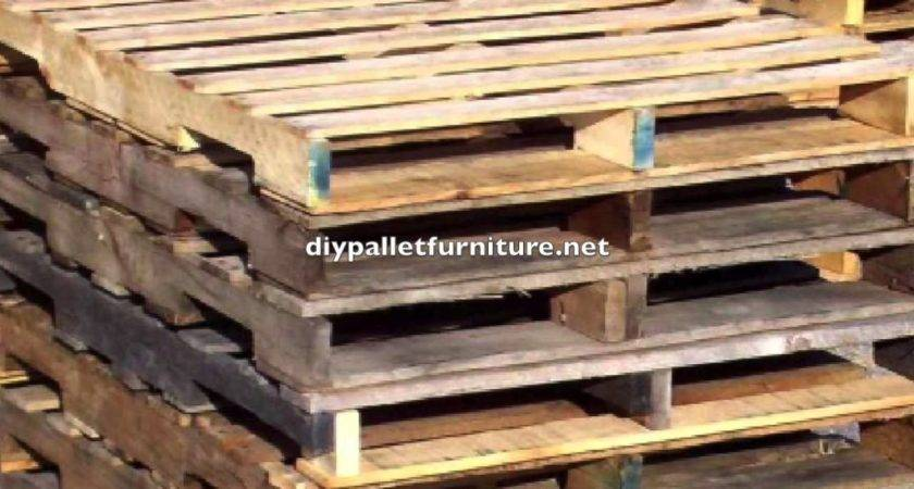 Diy Pallet Furniture Instructions Youtube