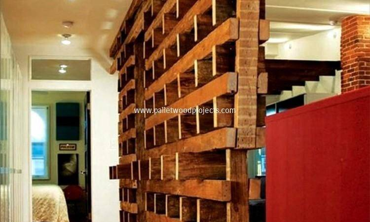 Diy Pallet Room Divider Ideas Wood Projects