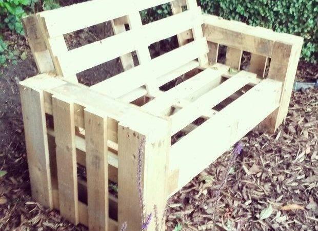 Diy Pallet Sofa Steps