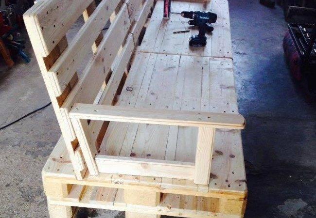 Diy Pallet Sofa Wheels Ideas Recycled