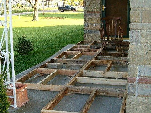 Diy Pallet Wood Front Porch Home Design Garden