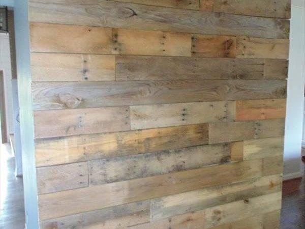 Diy Rustic Pallet Wall Paneling Furniture Plans
