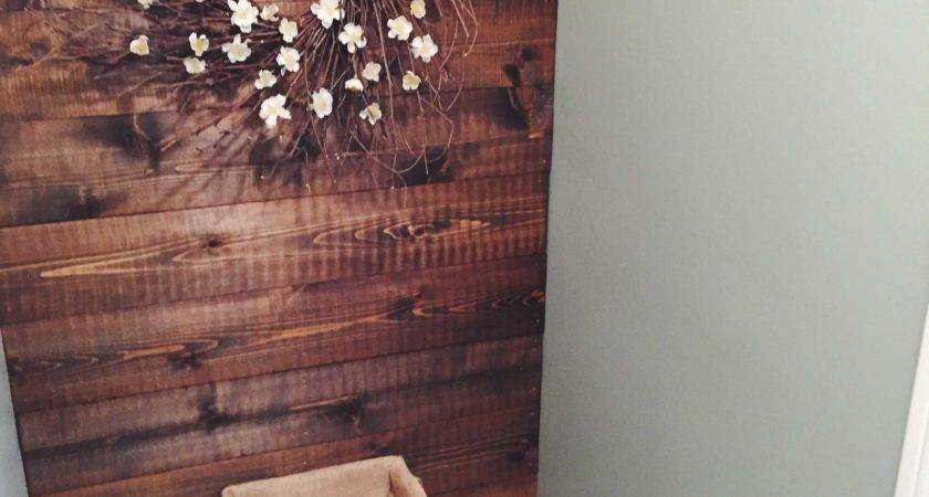 Diy Wood Panel Bathroom Accent Wall Schulman