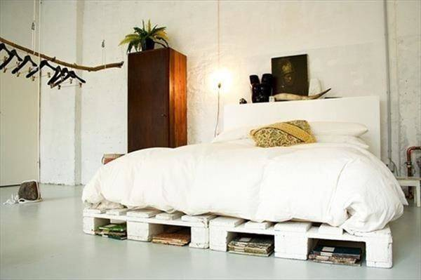 Diy Wooden Pallet Beds Furniture Plans