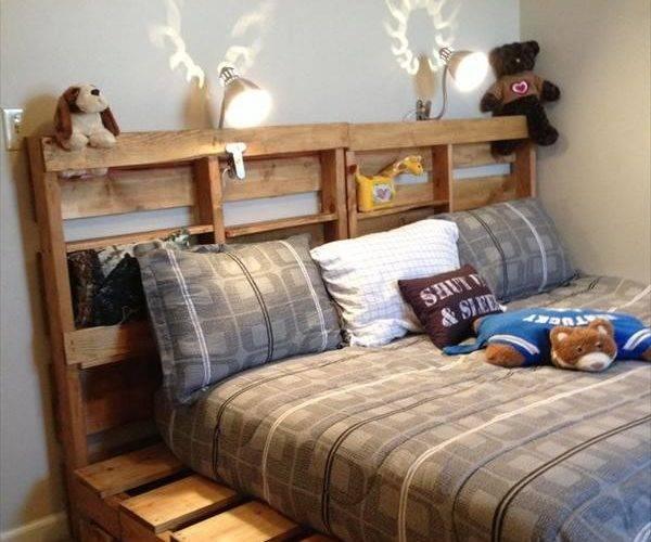 Diy Wooden Pallet Beds Furniture Plans