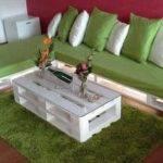 Diy Wooden Pallet Sofa Set Lights Designs Ideas