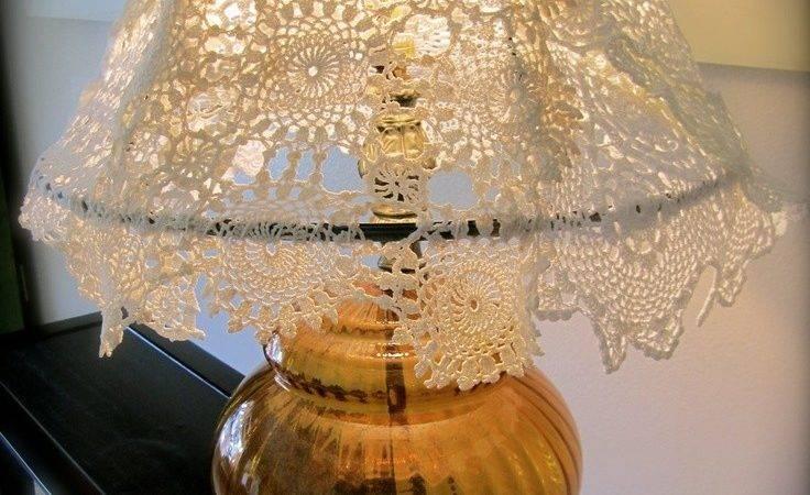 Doileys Lampshade Sale Handmade Crocheted Doily