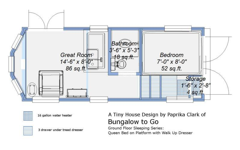 Donn Tiny House Plans Trailer