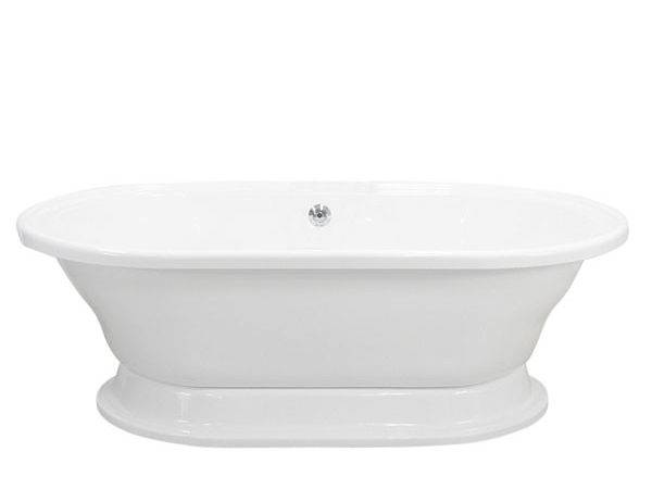 Double Ended Extra Wide Pedestal Tub Loo Store