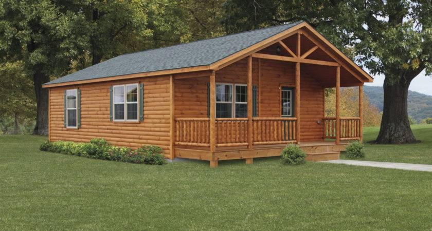 Double Module Settler Log Cabins Manufactured