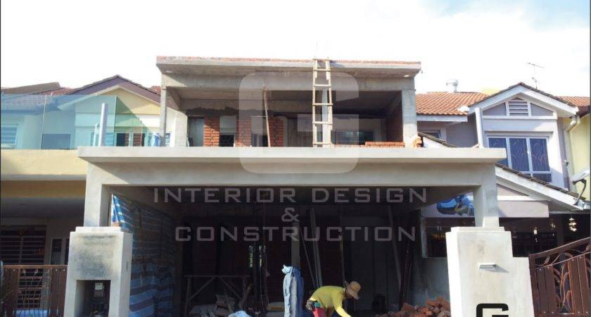 Double Story Renovation Before After
