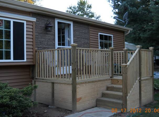 Double Wide Exterior Remodel Mobile Manufactured Home