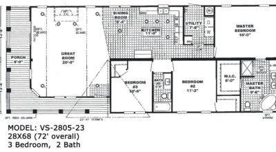 Double Wide Floorplans Mccants Mobile Homes
