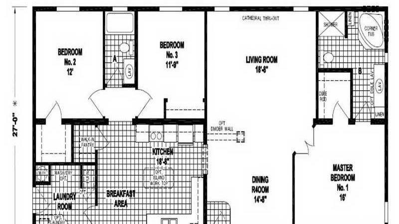 Double Wide Homes Floor Plans