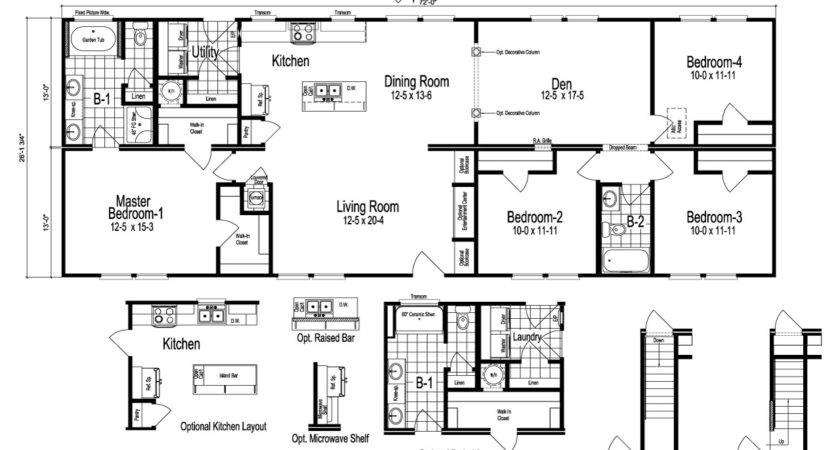 Drake Floor Plan Palm Harbor
