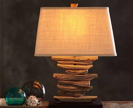 Driftwood Table Lamp Base Pottery Barn