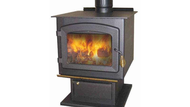Drolet Myriad Epa Approved Wood Burning Pedestal Stove