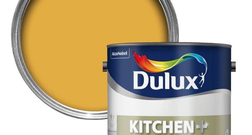 Dulux Kitchen Honey Mustard Matt Emulsion Paint