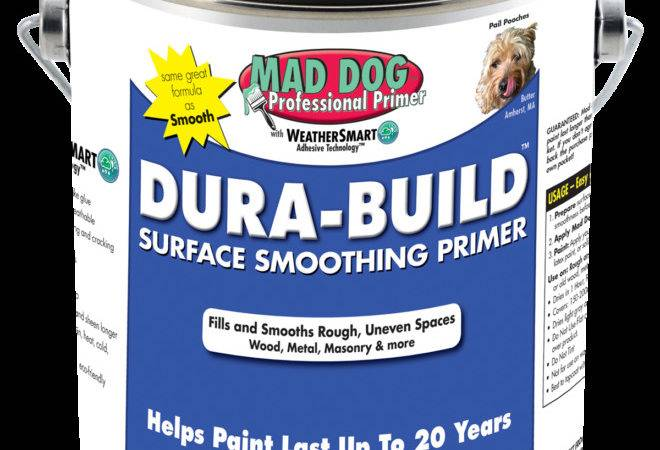 Dura Build Surface Smoothing Primer Mad Dog Paint Products