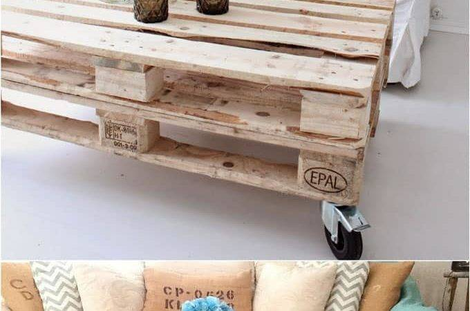 Easy Pallet Sofas Coffee Tables Diy One