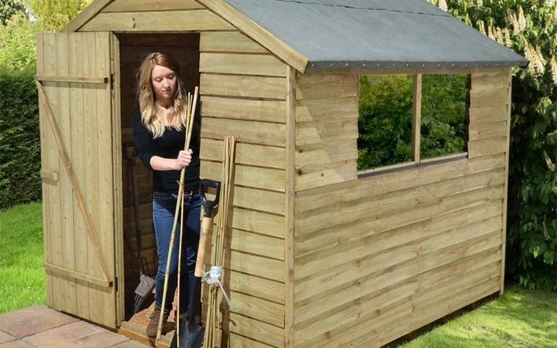 Easy Wooden Shed Out Pallets Diy Crafts