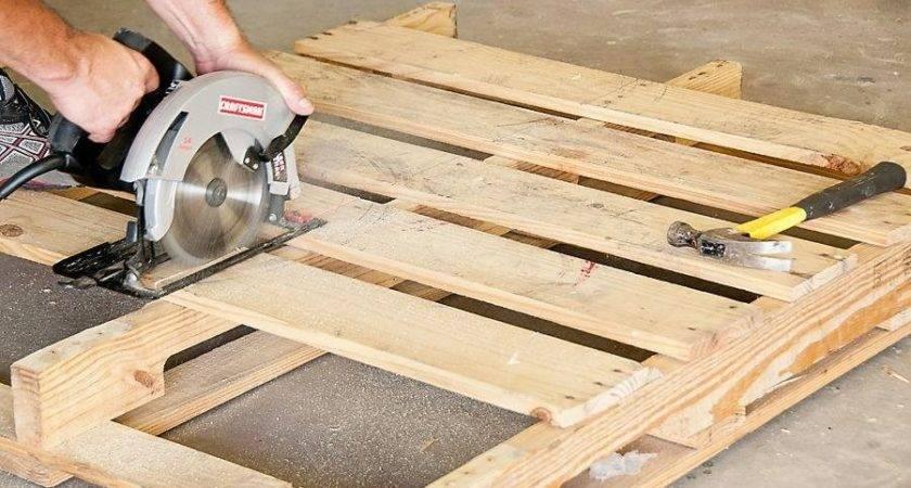 Elegant Pallet Wood Project Plans