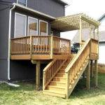 Elevated Deck Designs Plans Cheap Cubtab