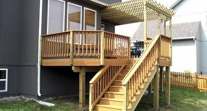 Elevated Deck Designs Plans Cheap Cubtab