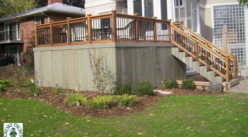 Elevated Deck Plans Pdf Woodworking